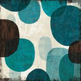Blue Drips I Poster von Michael Mullan