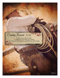 Reason no. 31: Cowboy is his name Posters par Shawnda Eva