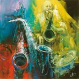 Hora del jazz Obra de arte por Antonio Massa