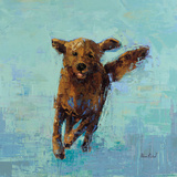 Golden Dog No. 5 Plakat autor Rebecca Kinkead