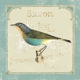 Parisian Bird II Posters by Sue Schlabach