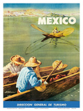Dirección General de Turismo: Lake Chapala, Mexico c.1948 Prints by Salvador Pruneda