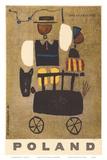 Poland: Land of Folklore, c.1963 Poster by W. Kaczanowski