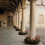 Villa Portico No. 1 Prints by Alan Blaustein