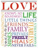 Kärlek Poster av Anna Quach