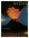 Mexico: Paricutin Volcano, c.1943 Posters