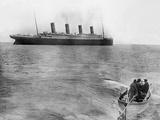 Last Picture of Titanic. Photographic Print