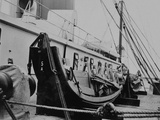 Extra Lifeboats after the Titanic Disaster. Photographic Print