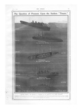 Illustration - Titanic Sinking. From the Sphere Newspaper. Photographic Print