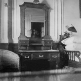 Father Browne's Stateroom. First Class Stateroom on RMS Titanic. Photographic Print