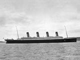 Titanic' Dropping Anchor. Photographic Print