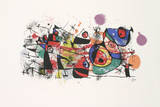 Ceramics (Restrike) Collectable Print by Joan Miro