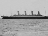 RMS Olympic Lying at Anchor Off Roche's Point, Cork, Ireland. Photographic Print