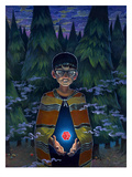 Twenty Sides of Salvation Reproduction procédé giclée par Aaron Jasinski