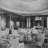 Mauretania', the Lounge. Photographic Print