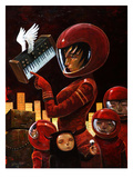 Music Lesson Giclee Print by Aaron Jasinski