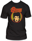 David Bowie - Glam Shot Shirts