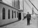 Jacques Futrelle on Titanic. Photographic Print