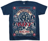 KISS- Cobo Hall T-shirts