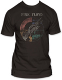 Pink Floyd - Wish You Were Here Distressed T-Shirts