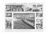 Titanic Article. The Greatest Shipwreck in the World's History: the Loss of the Titanic'. Photographic Print