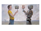 The Real You Giclee Print by Aaron Jasinski