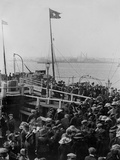 Emmigrants Boarding at Cobh. Photographic Print