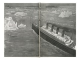 Titanic in the Ice Floe. Photographic Print