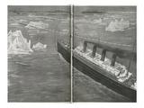 Titanic in the Ice Floe. Photographic Print