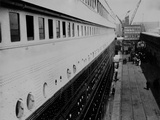 Second Class Passengers Boarding at Southampton, April 10th 1912. Photographic Print