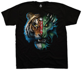 Fantasy- Tiger Dragon T-shirts