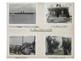 Titanic Album, Page 13. Photographic Print