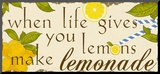 Lemonade Mounted Print by Anna Quach