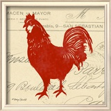 Tuscan Rooster II Posters by Sharyn Sowell
