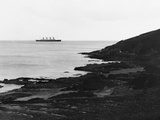 RMS Olympic from Crosshaven County Cork. Photographic Print