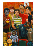 Because of Music Giclee Print by Aaron Jasinski