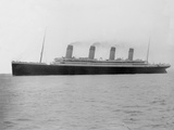 RMS Olympic. Off Roches Point, Cork, Ireland. Photographic Print