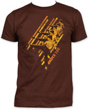 Bruce Lee - Diagonal Camisetas