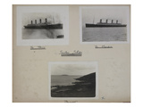 Titanic Album, Page 12. Photographic Print