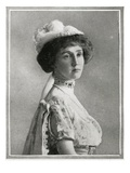 Photograph of Lady Rothes, Who Was Saved from the Titanic. Photographic Print