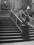 Grand Staircase of White Star Liner, RMS Titanic. Photographic Print