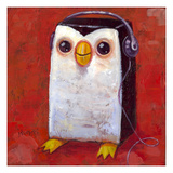 Hip Hopenguin I Giclee Print by Aaron Jasinski