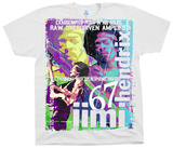 Jimi Hendrix- Hendrix Raw T-shirts