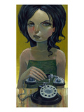 Call Waiting Giclee Print by Aaron Jasinski