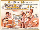 Au Bon Marche Tin Sign