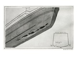 Titanic Hitting Iceberg. Photographic Print