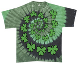 Youth: Shamrock Spiral Shirts