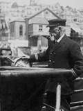 Captain of Queenstown Tender. Photographic Print