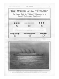 Titanic Story - The Sphere. RMS Titanic Sinks - Morse Code Signals. Photographic Print