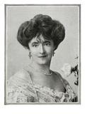 Lady Duff-Gordon. Passengers on RMS Titanic. Photographic Print